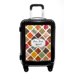 Spices Carry On Hard Shell Suitcase (Personalized)