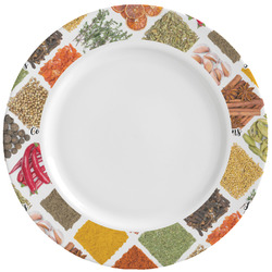 Spices Ceramic Dinner Plates (Set of 4) (Personalized)