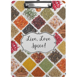 Spices Clipboard (Personalized)