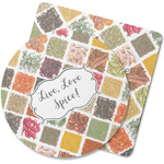 Spices Rubber Backed Coaster (Personalized)