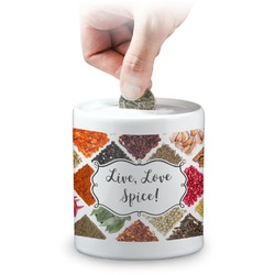 Spices Coin Bank (Personalized)