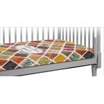 Spices Crib Fitted Sheet (Personalized)