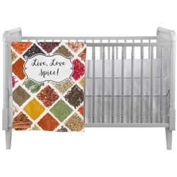 Spices Crib Comforter / Quilt (Personalized)