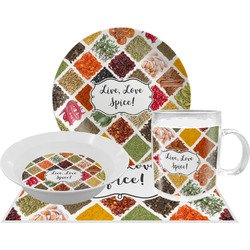 Spices Dinner Set - 4 Pc (Personalized)