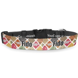 """Spices Deluxe Dog Collar - Extra Large (16"""" to 27"""") (Personalized)"""