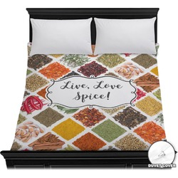 Spices Duvet Cover (Personalized)