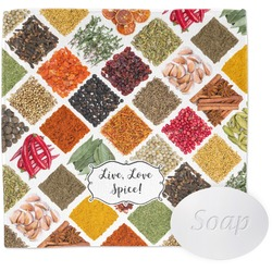 Spices Wash Cloth (Personalized)