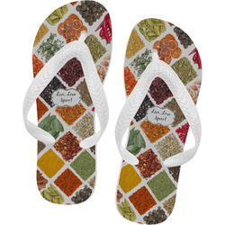 Spices Flip Flops (Personalized)
