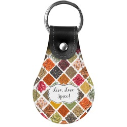 Spices Genuine Leather  Keychain (Personalized)