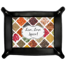 Spices Genuine Leather Valet Tray (Personalized)