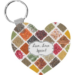 Spices Heart Keychain (Personalized)