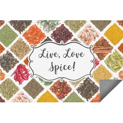 Spices Indoor / Outdoor Rug - 6'x9' (Personalized)