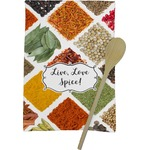 Spices Kitchen Towel - Full Print (Personalized)