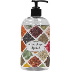 Spices Plastic Soap / Lotion Dispenser (Personalized)
