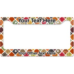 Spices License Plate Frame (Personalized)
