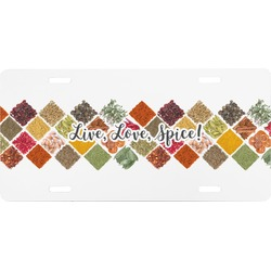 Spices Front License Plate (Personalized)