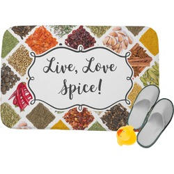 Spices Memory Foam Bath Mat (Personalized)