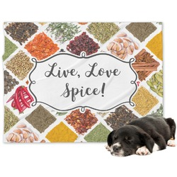 Spices Minky Dog Blanket - Large  (Personalized)