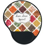 Spices Mouse Pad with Wrist Support