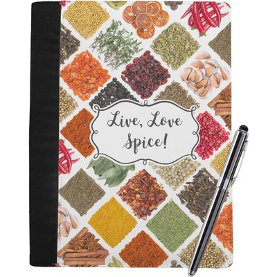 Spices Notebook Padfolio (Personalized)