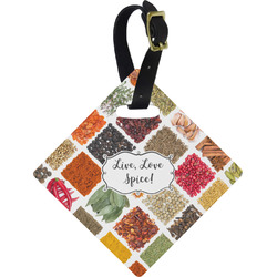 Spices Diamond Luggage Tag (Personalized)