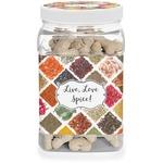 Spices Dog Treat Jar (Personalized)
