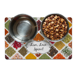 Spices Dog Food Mat (Personalized)