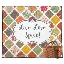 Spices Outdoor Picnic Blanket (Personalized)