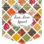 Spices Iron On Faux Pocket (Personalized)