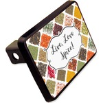"""Spices Rectangular Trailer Hitch Cover - 2"""" (Personalized)"""