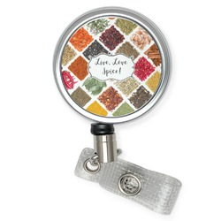 Spices Retractable Badge Reel (Personalized)