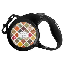 Spices Retractable Dog Leash (Personalized)