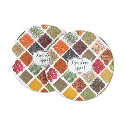 Spices Sandstone Car Coasters (Personalized)