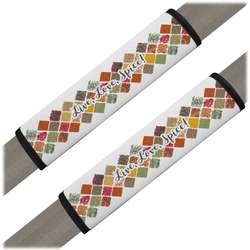 Spices Seat Belt Covers (Set of 2) (Personalized)