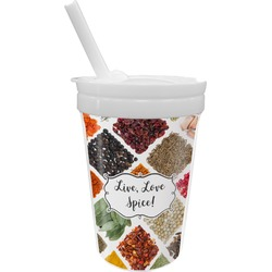 Spices Sippy Cup with Straw (Personalized)