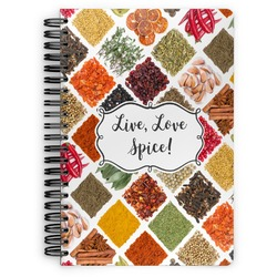 Spices Spiral Bound Notebook (Personalized)