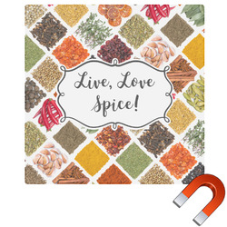 "Spices Square Car Magnet - 6"" (Personalized)"