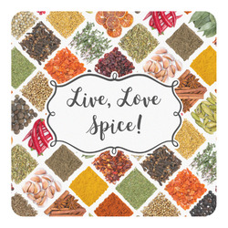 Spices Square Decal (Personalized)