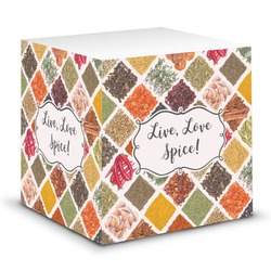 Spices Sticky Note Cube (Personalized)