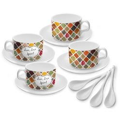 Spices Tea Cup - Set of 4 (Personalized)