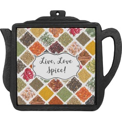 Spices Teapot Trivet (Personalized)