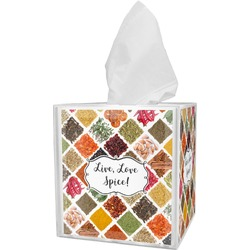 Spices Tissue Box Cover (Personalized)