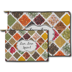 Spices Zipper Pouch (Personalized)