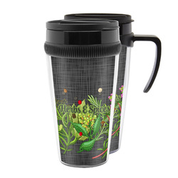 Herbs & Spices Acrylic Travel Mugs (Personalized)
