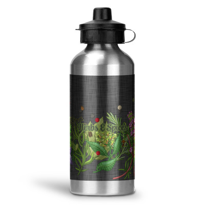 Herbs & Spices Water Bottle - Aluminum - 20 oz (Personalized)