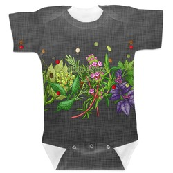 Herbs & Spices Baby Bodysuit (Personalized)