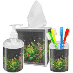 Herbs & Spices Bathroom Accessories Set (Personalized)