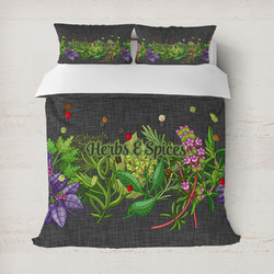 Herbs & Spices Duvet Covers (Personalized)