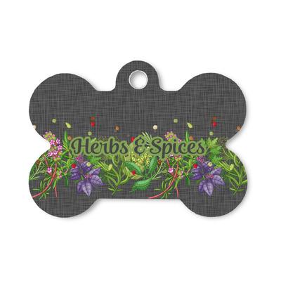 Herbs & Spices Bone Shaped Dog ID Tag