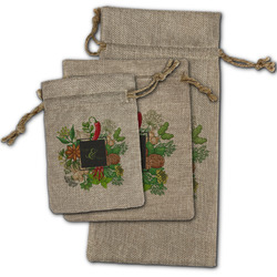 Herbs & Spices Burlap Gift Bags